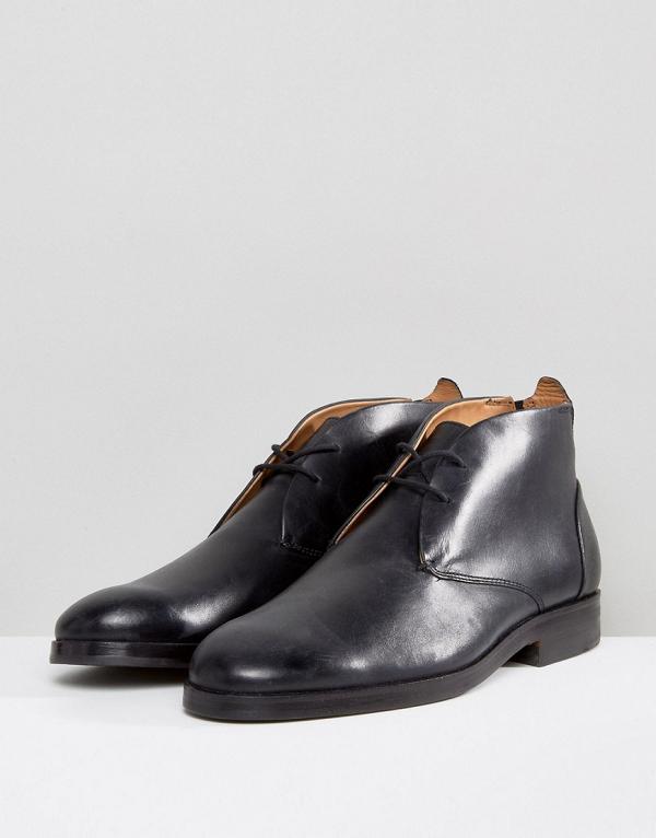 Men's Smart Black Boots