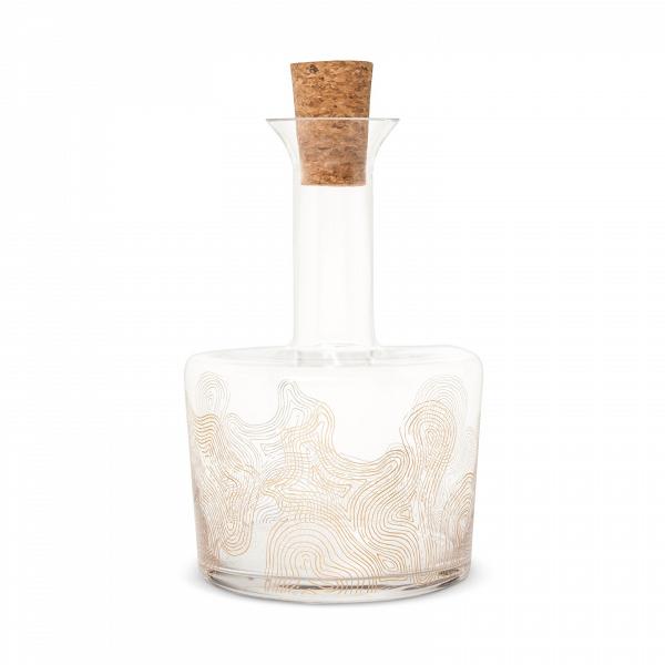 Modern glass decanter