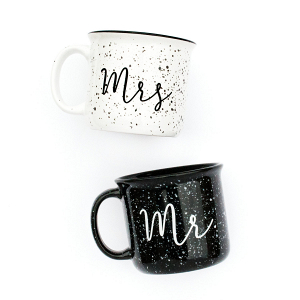 Mr. and Mrs. Campfire Mug Set