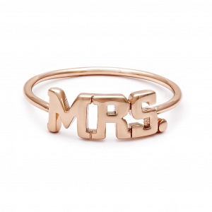 Mrs. Ring in Rose Gold