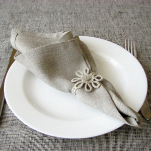 Neutral Linen Napkins