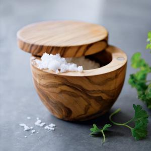 Olivewood Salt Keeper