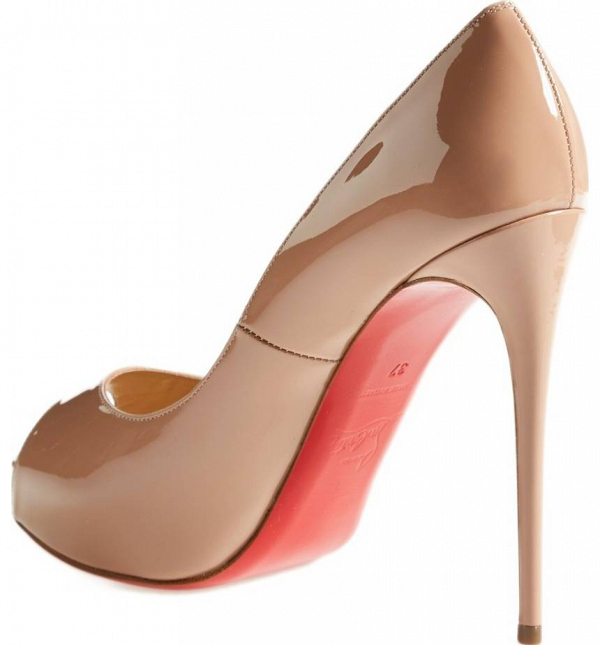 Christian Louboutin Peep-Toe Pumps