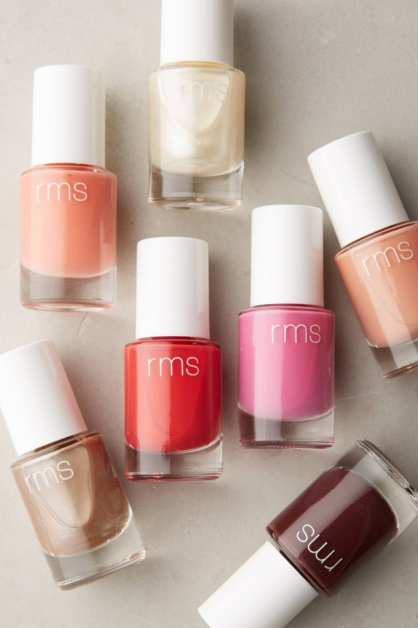 Vegan, chemical-free nail polish for brides and bridesmaids
