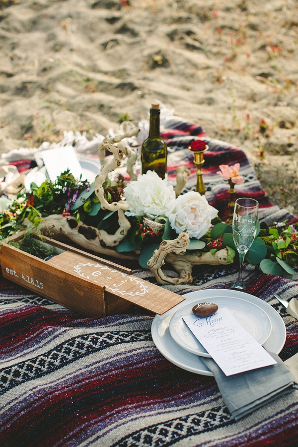 Dune picnic in the Pacific Northwest