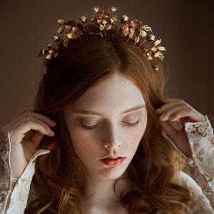 Sharon Floral Bridal Tiara