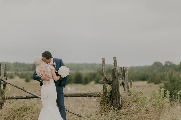 A romantically rustic day-after portrait session in Wisconsin
