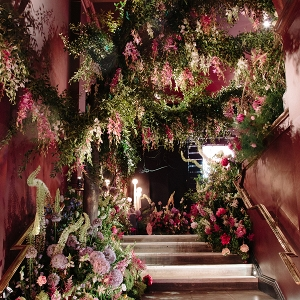 Magical scenes from Sketch's Mayfair Flower Show