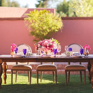 Alfresco dining at the Arizona Inn
