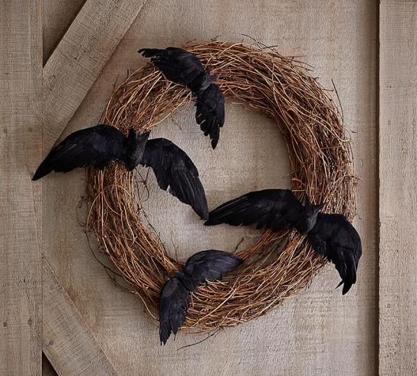 Twig & bat Wreath