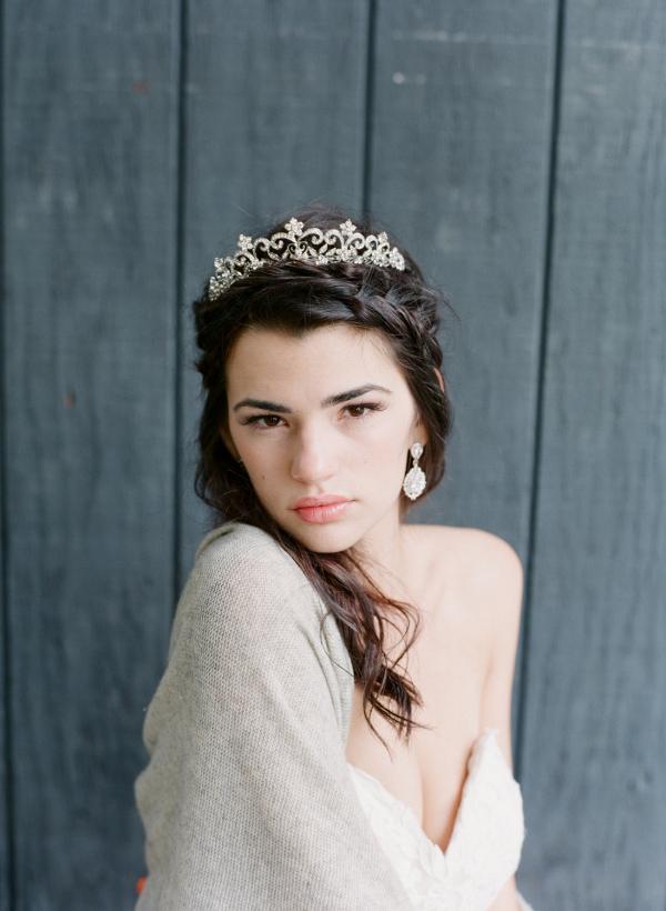 Victorian Scroll Bridal Tiara