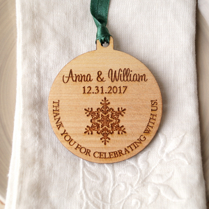 Wood Wedding Favor