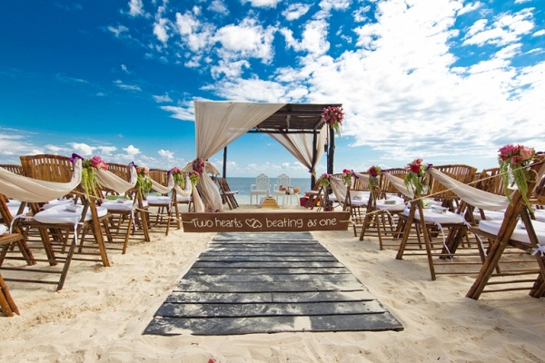 Beach Style Wedding Canopy
