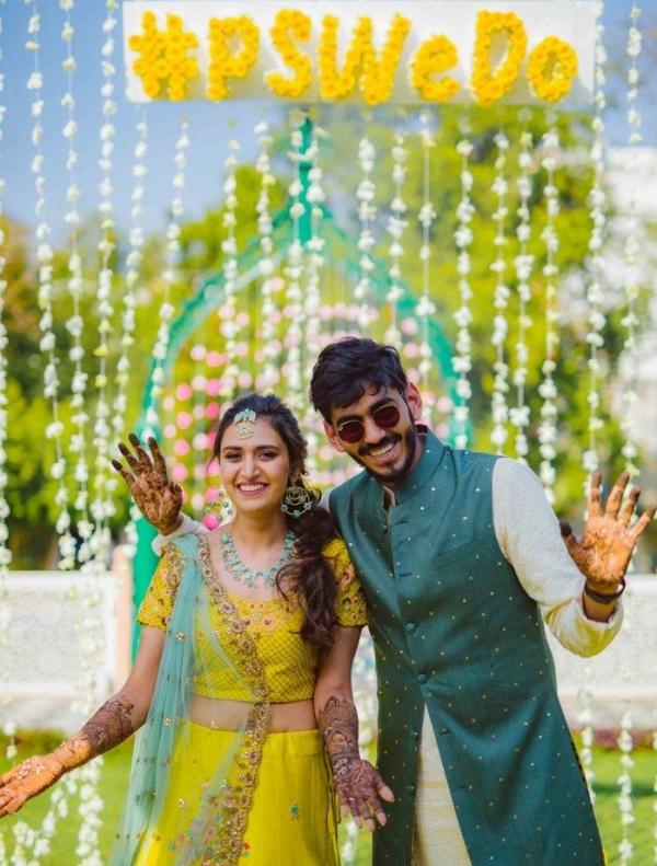 Colorful Indian wedding