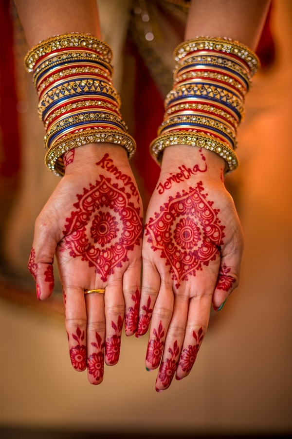 Bridal henna on The Big Fat Indian Wedding