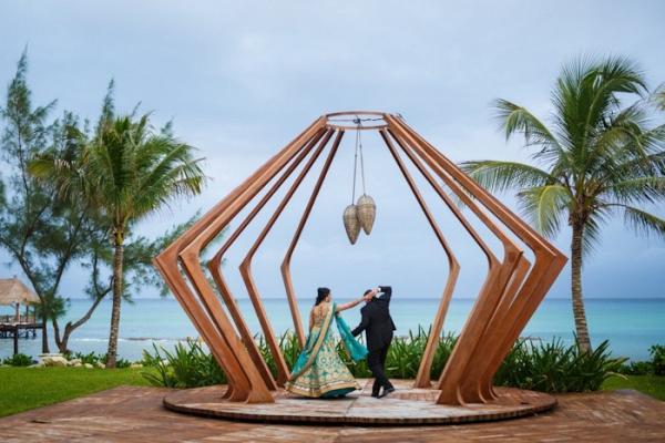 Playa del Carmen Indian wedding
