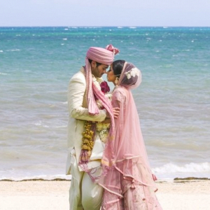 Destination beach Indian wedding