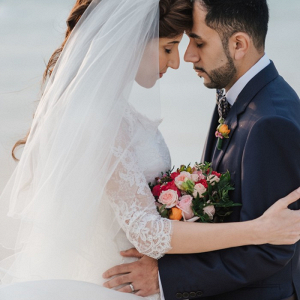 Persian bride and groom