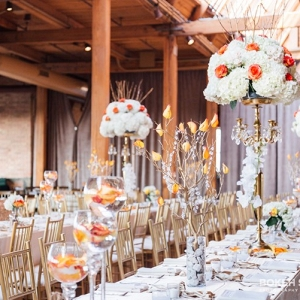 Reception Tables at Loft