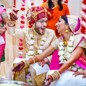 Indian fusion wedding