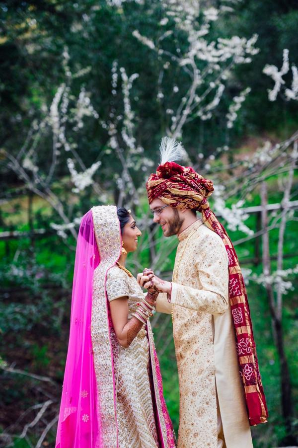 Colorful fusion wedding
