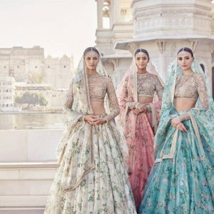 Floral Indian brides