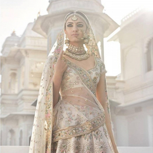 Gold bridal sari by Sabyasachi