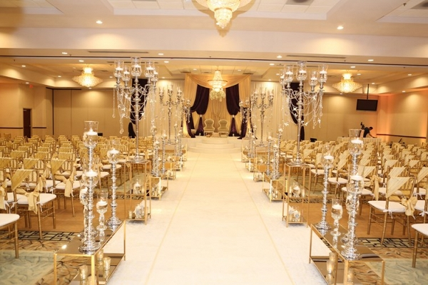 Ceremony Aisle at Indian Wedding
