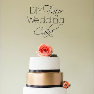 diy-faux-wedding-cake