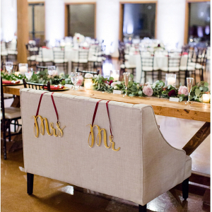 ideas for head table