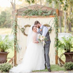 Alabama garden wedding