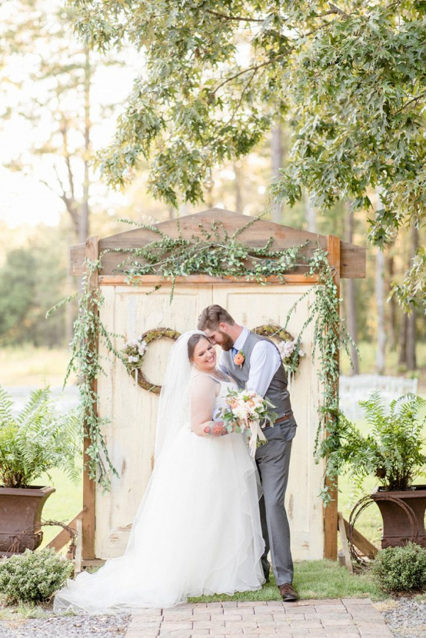 Alabama garden wedding