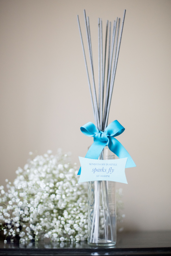 Wedding Sparklers - Where to Buy Sparklers for your wedding reception exit - photo by mikkel paige photography