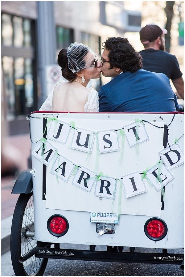 Portland Courthouse Wedding on The Budget Savvy Bride