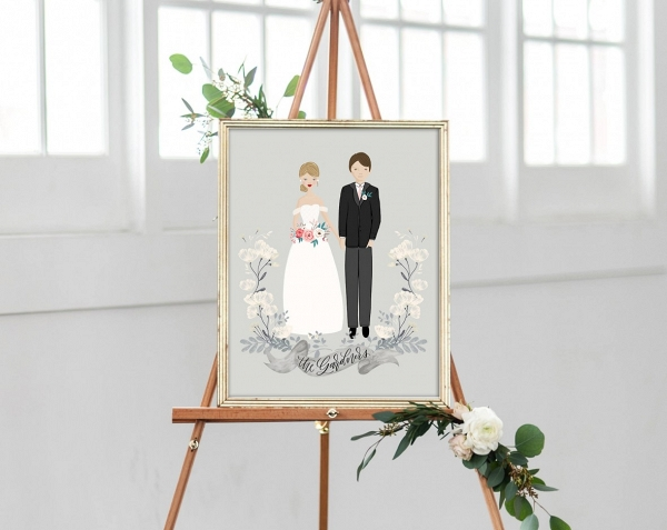 Custom Wedding Art On The Budget Savvy Bride
