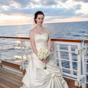 Disney cruise bride