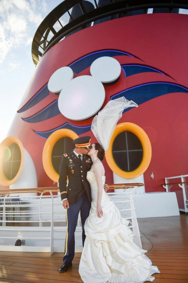Disney cruise wedding