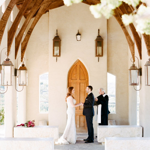 Historic chapel elopement