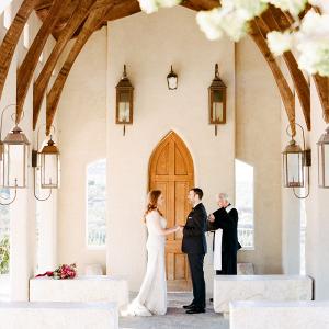 Historic chapel elopement