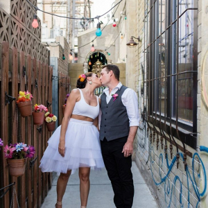 Downtown Las Vegas elopement