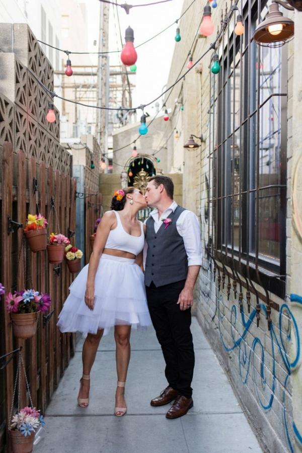 Downtown Las Vegas elopement