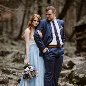 Intimate Smokie Mountain elopement