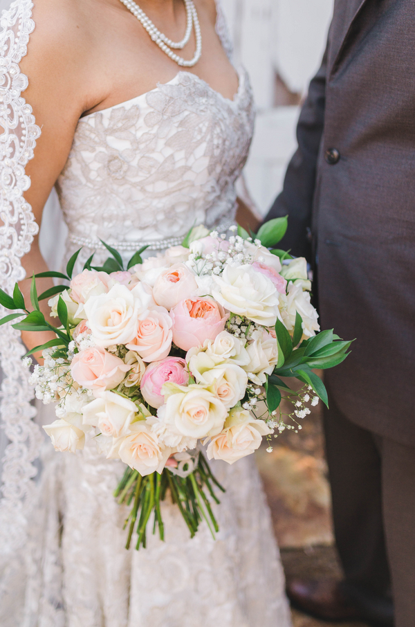 Oversized Bouquet with Roses, Peonies, and baby's breath