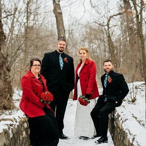 Intimate Winter Wedding on The Budget Savvy Bride