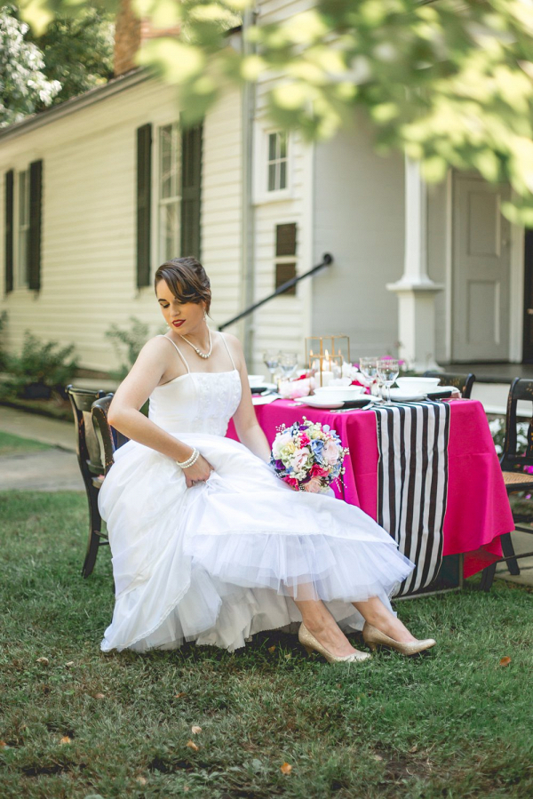 Kate Spade Inspired Wedding Shoot