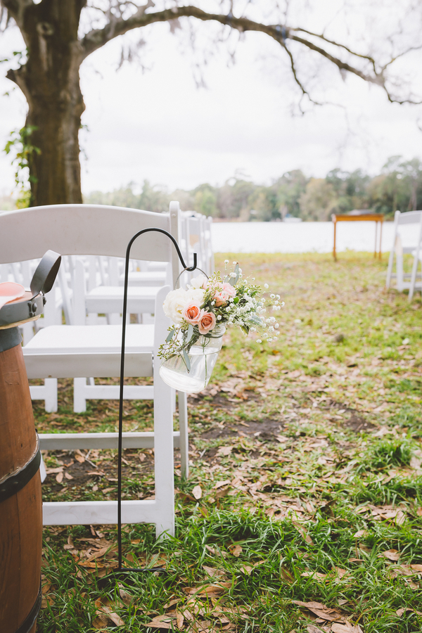 Aisle Marker Decor | Shot by Darin Crofton Photography
