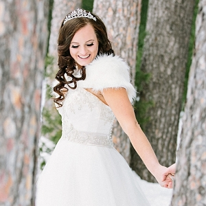 Winter Wonderland Bride | James Stokes Photography