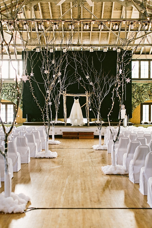 Winter Wonderland Wedding   James Stokes Photography