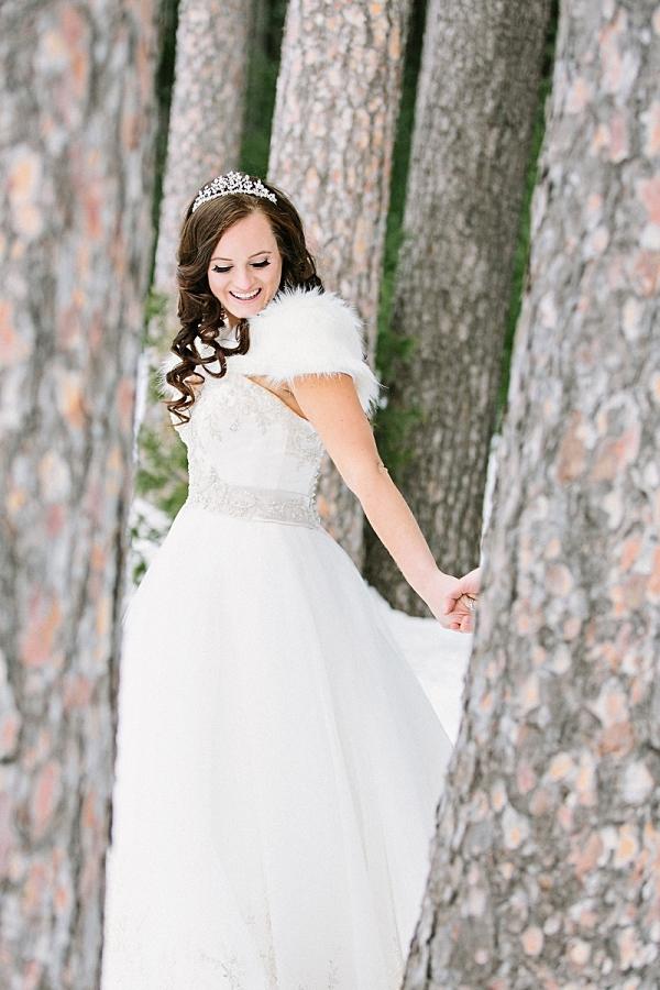 Winter Wonderland Bride   James Stokes Photography