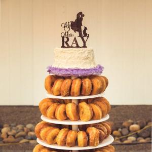 Wedding donut tower